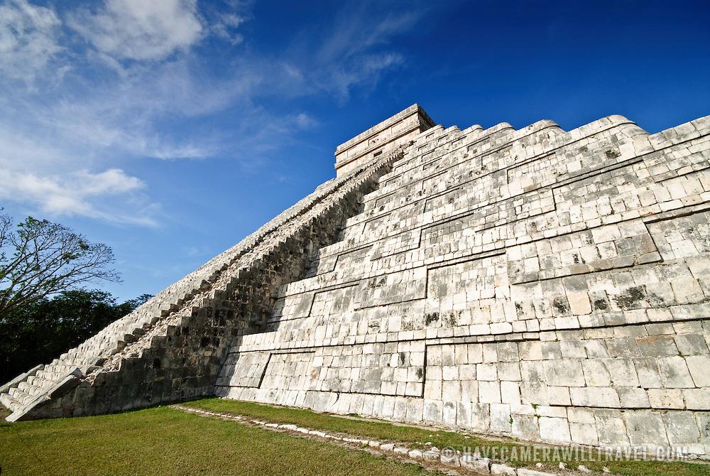 El Castillo (also known as Temple of Kuklcan) at the ancient Mayan ruins at Chichen Itza, Yucatan, Mexico 081216092714_1918x.tif