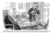 """New employee (on obtaining telephone number for chief and using the new pronunciation required by the new official instructions). """"City fife thr-r-r-ee oh foer. Ha, ha, ha! I say, sir, don't you feel like a most priceless silly ass talking like that?"""""""