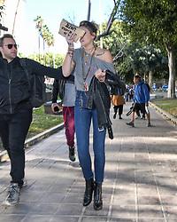 Paris Jackson is seen in Los Angeles, California. NON-EXCLUSIVE Jan 20, 2018. 20 Jan 2018 Pictured: Paris Jackson. Photo credit: PG/BauerGriffin.com/MEGA TheMegaAgency.com +1 888 505 6342