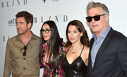 L-R: Actors Dylan McDermott, Demi Moore, Hilaria Baldwin and actor Alec Baldwin attend the NY premiere of Blind at the Landmark Sunshine Cinemas in New York, NY on June 26, 2017.  (Photo by Stephen Smith) *** Please Use Credit from Credit Field ***