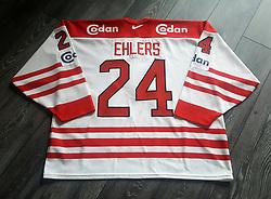 #24 Heinz Ehlers. Originale Landsholds kamptrøje.