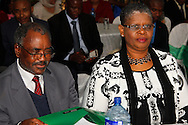 DURBAN - 15 November 2016 - KwaZulu-Natal premier Willies Mchunu (left) together with eThekwini Metro Municipal mayor Zandile Gumede listen to speeches during a sod-turning ceremony at Durban's Addington Beach where a monument is set to be built to commemorate the 1860 arrival of Indians in South Africa. They were brought into the country as indentured labourers to work on the sugar cane fields of the then Natal Colony. Today there are an estimated 1.3 million South Africans of Indian descent, most of whom live in the greater Durban area. Picture Allied Picture Press/APP