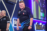 Harry Ward during the PDC William Hill World Darts Championship at Alexandra Palace, London, United Kingdom on 17 December 2019.
