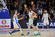 DESCRIZIONE : Eurolega Euroleague 2014/15 Gir.A Dinamo Banco di Sardegna Sassari - Real Madrid<br /> GIOCATORE : Shane Lawal Giacomo Devecchi <br /> CATEGORIA : Difesa Controcampo<br /> SQUADRA : Dinamo Banco di Sardegna Sassari<br /> EVENTO : Eurolega Euroleague 2014/2015<br /> GARA : Dinamo Banco di Sardegna Sassari - Real Madrid<br /> DATA : 12/12/2014<br /> SPORT : Pallacanestro <br /> AUTORE : Agenzia Ciamillo-Castoria / Luigi Canu<br /> Galleria : Eurolega Euroleague 2014/2015<br /> Fotonotizia : Eurolega Euroleague 2014/15 Gir.A Dinamo Banco di Sardegna Sassari - Real Madrid<br /> Predefinita :
