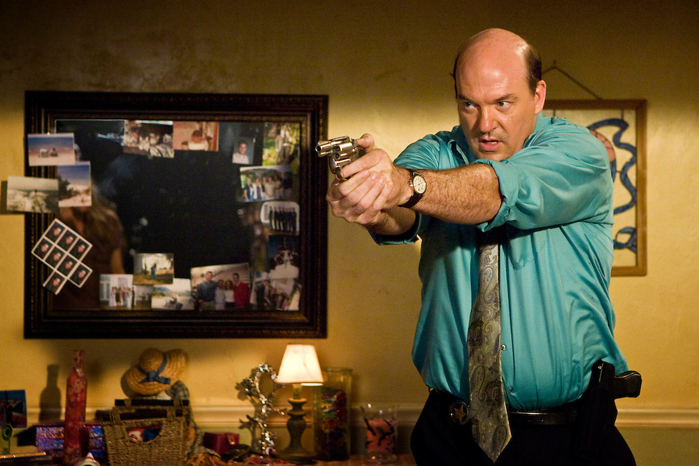 John Carroll Lynch as Captain James Embry in Fox Television's 'K-Ville' - a police drama set in New Orleans after Hurricane Katrina.
