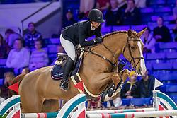 Schwizer-Seydoux Florence, SUI, Delphi<br /> Jumping Mechelen 2019<br /> © Hippo Foto - Martin Tandt<br />  27/12/2019