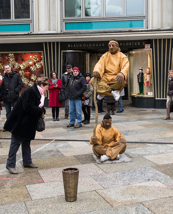 The weightless monk