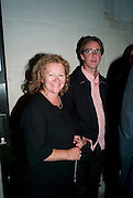 Rachel Whiteread; Marcus Taylor, Opening of Eadweard Muybridge and Rachel Whiteread exhibitions. Tate Britain. Millbank. 6 September 2010. -DO NOT ARCHIVE-© Copyright Photograph by Dafydd Jones. 248 Clapham Rd. London SW9 0PZ. Tel 0207 820 0771. www.dafjones.com.