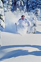 Northstar Powder Skiing