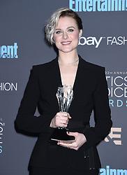 22nd Annual Critics' Choice Awards Press Room in Santa Monica, CA. 11 Dec 2016 Pictured: Evan Rachel Wood. Photo credit: American Foto Features / MEGA TheMegaAgency.com +1 888 505 6342