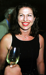 MISS AMANDA PLATELL adviser to the Conservative party, at a party in London on 9th September 1999.MWD 18