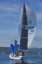 Silvers Marine Scottish Series 2017<br /> Tarbert Loch Fyne - Sailing<br /> IRL3061, Fools Gold, Robert McConnell, A35
