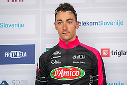 PARRINELLO Antonio Casimir (Italy) of D'Amico Bottecchia during flower ceremony after the Stage 2 of 22nd Tour of Slovenia 2015 from Skofja Loka to Kocevje (183 km) cycling race on June 19, 2015 in Slovenia. Photo by Ziga Zupan / Sportida