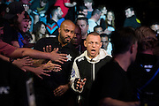 LAS VEGAS, NV - JULY 8:  Ross Pearson walks to the Octagon during The Ultimate Fighter Finale at MGM Grand Garden Arena on July 8, 2016 in Las Vegas, Nevada. (Photo by Cooper Neill/Zuffa LLC/Zuffa LLC via Getty Images) *** Local Caption *** Ross Pearson