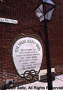 Historic site Sign, Lititz, PA
