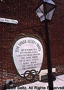 Historic site Sign, Lititz, PA