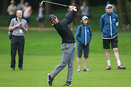 Rory Mcllroy hits a shot on the fairway during the Celebrity Pro-Am day at Wentworth Club, Virginia Water, United Kingdom on 23 May 2018. Picture by Phil Duncan.