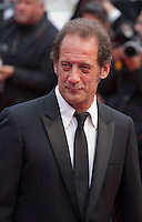 Actor Vincent Lindon at the Closing ceremony and premiere of La Glace Et Le Ciel at the 68th Cannes Film Festival, Sunday 24th May 2015, Cannes, France.