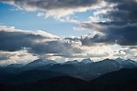 Mountain landscape, Jotunheimen national park, Norway