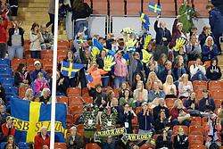 Swedish supporters<br /> FEI European Dressage Championships - Goteborg 2017 <br /> © Hippo Foto - Dirk Caremans<br /> 23/08/2017,