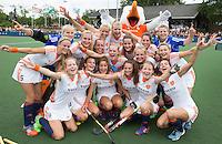 BREDA - Oranje na de finale van het Volvo Invitatie Toernooi U21 tussen de vrouwen van Nederland en China (5-1) . COPYRIGHT KOEN SUYK