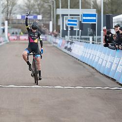 11-01-2020: Wielrennen: NK Veldrijden: Rucphen<br />Leonie Bentveld