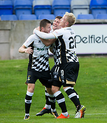Inverness Caledonian Thistle's Iain Vigurs (11) cele scoring their fourth goal. Brechin City 0 v 4 Inverness Caledonian Thistle, Scottish Championship game played 26/8/2017 at Brechin City's home ground Glebe Park.