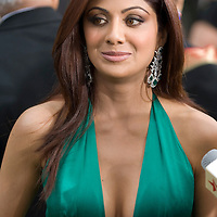 SHEFFIELD, UNITED KINGDOM - 9th June 2007: Bollywood actress Shilpa Shetty at International Indian Film Academy Awards (IIFAs) at the Sheffield Hallam Arena on June 9, 2007 in Sheffield, England.