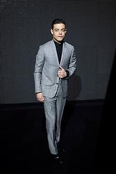 Jan. 24, 2016 - Paris, France - Rami MALEK - Show Dior Menswear Fall/Winter 2016-2017 Paris Fashion Week 23 janvier 2016 - FRANCE (Credit Image: © Visual via ZUMA Press)