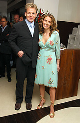 Top chef GORDON RAMSAY and his wife TANA at a party to celebrate the opening of Maze - a new Gordon Ramsay restaurant at 10-13 Grosvenor Square, London W1 on 24th May 2005.<br /><br />NON EXCLUSIVE - WORLD RIGHTS