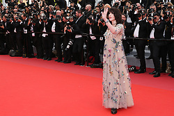 Actress Isabelle Adjani attending the screening of Everybody Knows (Todos Lo Saben) opening the 71st annual Cannes Film Festival at Palais des Festivals on May 8, 2018 in Cannes, France. Photo by Shootpix/ABACAPRESS.COM of 'Everybody Knows (Todos Lo Saben)' and the opening gala during the 71st annual Cannes Film Festival at Palais des Festivals on May 8, 2018 in Cannes, France.