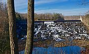 Lake spillway, Nockamixon State Park, Bucks Co., PA