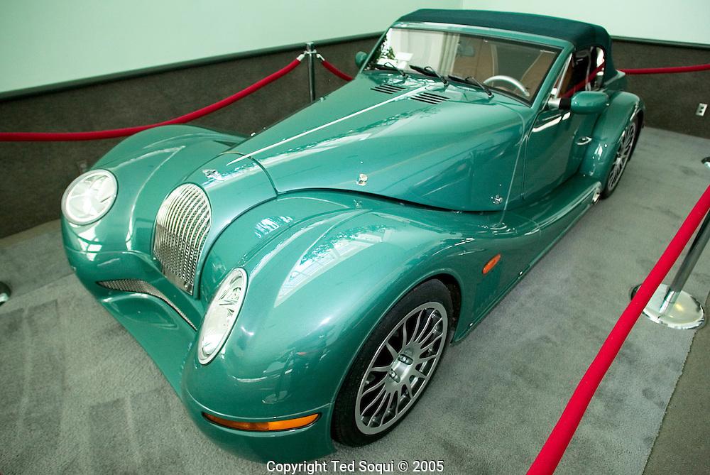 Morgan Aero 8..LA Auto show at the LA Convention Center..1/5/05.