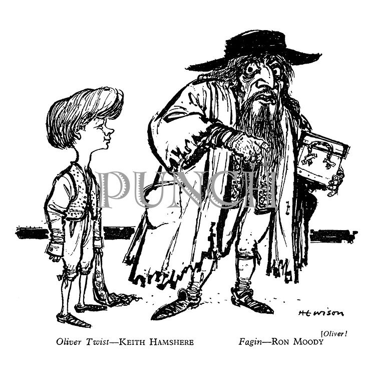 Oliver! Oliver Twist — Keith Hamshere, Fagin — Ron Moody