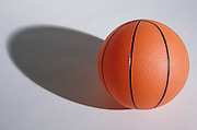 still life of a basketball