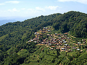 A view of the Mouchi ethnic minority village of Ban Terka, Phongsaly province, Lao PDR.