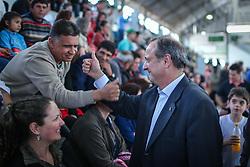 """O candidato a governador do Estado pela coligação """"O Rio Grande Merece Mais"""", Vieira da Cunha durante inauguração de comitê, em Taquari. FOTO: Jefferson Bernardes/ Agência Preview"""