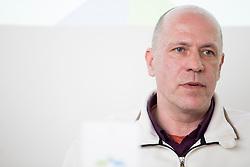Gregor Rigler - representative Slovenian Curling Association at press conference of Slovenian Curling Association before Olympic Celebration Tour in Zalog, on February 9, 2018 in Olympic center BTC, Ljubljana, Slovenia. Photo by Urban Urbanc / Sportida