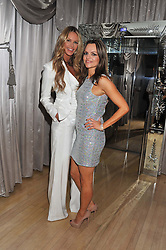 Left to right, ELLE MACPHERSON and MARIA HATZISTEFANIS at the 2012 Rodial Beautiful Awards held at The Sanderson Hotel, Berners Street, London on 6th March 2012.