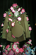 Uniform of Azeri Soldier who died at  the war in Nagorno-Karabakh displayed at the Museum of the War in Quba....The Nagorno-Karabakh War was an armed conflict that took place from February 1988 to May 1994, in the small enclave of Nagorno-Karabakh in southwestern Azerbaijan.