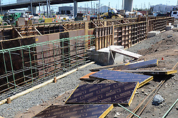 New Haven Rail Yard, Independent Wheel True Facility. CT-DOT Project # 0300-0139, New Haven CT..Photograph of Construction Progress Photo Shoot 12 on 15 June 2012. One of 56 Images Captured this Submission.