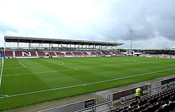 A general view of Sixfields home to Northampton Town - Mandatory by-line: Robbie Stephenson/JMP - 01/10/2016 - FOOTBALL - Sixfields Stadium - Northampton, England - Northampton Town v Bristol Rovers - Sky Bet League One