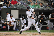 CHICAGO - SEPTEMBER 10:  Gordon Beckham #15 of the Chicago White Sox bats against the Cleveland Indians on September 10, 2011 at U.S. Cellular Field in Chicago, Illinois.  The White Sox defeated the Indians 7-3.  (Photo by Ron Vesely)   Subject: Gordon Beckham