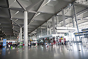 Interior of Malaga airport, Spain