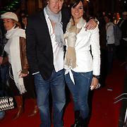 Premiere Snowfever, Lieke van Lexmond en partner Jeroen Rietbergen
