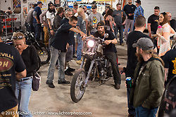 Bill Dodge's Bling's Cycles party during Daytona Beach Bike Week 2015. FL, USA. Wednesday, March 11, 2015.  Photography ©2015 Michael Lichter.