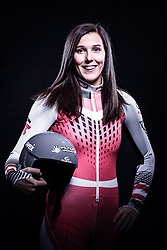 12.10.2019, Olympiahalle, Innsbruck, AUT, FIS Weltcup Ski Alpin, im Bild Rosina Schneeberger // during Outfitting of the Ski Austria Winter Collection and the official Austrian Ski Federation 2019/ 2020 Portrait Session at the Olympiahalle in Innsbruck, Austria on 2019/10/12. EXPA Pictures © 2020, PhotoCredit: EXPA/ JFK