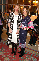 Left to right, the COUNTESS OF DERBY and EMILY OPPENHEIMER TURNER at a ladies lunch in aid of the NSPCC held at The Ritz, Piccadilly, London on 7th March 2006.<br /><br />NON EXCLUSIVE - WORLD RIGHTS