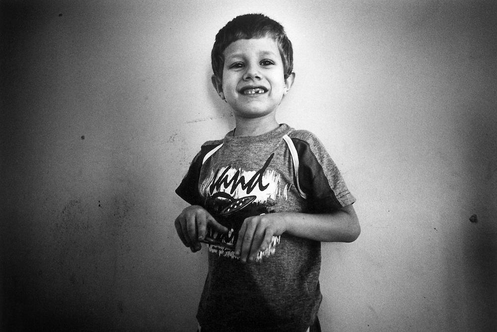 Paris, janvier 2000. Marc, 7 ans.