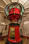 Point Reyes Lighthouse interior,Point Reyes National Seashore, California